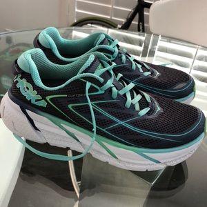 Hoka One One Clifton running shoes